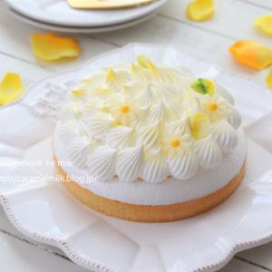 LikeSweetsBOX8月のケーキ #フルールジョーヌデテ
