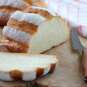キッチンエイドのスタンドミキサーでパン ミルクハース