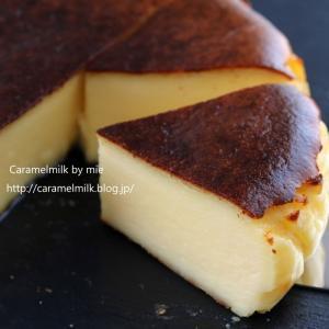 ミルク風味のチーズケーキ