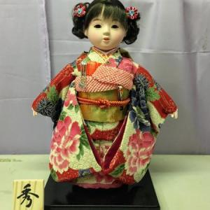 磐田市のI様は母の創る秀月オリジナルの市松人形