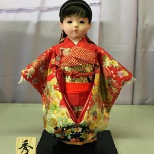 袋井市のM様は母の創る可愛い市松人形