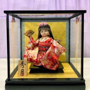 周智郡森町のT様は母が作る秀月オリジナルの舞 市松人形