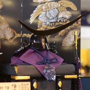 徳島県徳島市のN様は秀月オリジナル 伊達政宗公の兜飾り