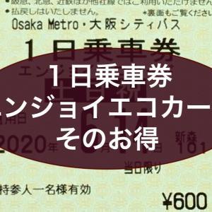エンジョイエコカード1日乗車券は、使わないと損するほどお得