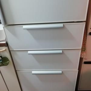 冷蔵庫の下を大掃除?