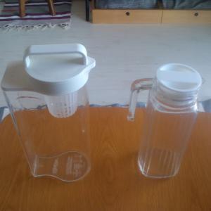 無印とニトリの冷水筒比較&断捨離
