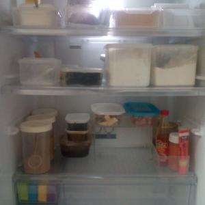 初公開・我が家の冷蔵庫収納・100均でスッキリ