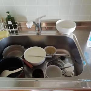 水切りかごも水切りマットも使わない・休日のキッチンリセット