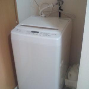 楽天で新しい真っ白洗濯機・使い心地など