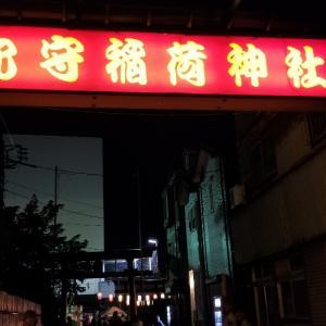 穴守稲荷神社~献灯祭、奉納~