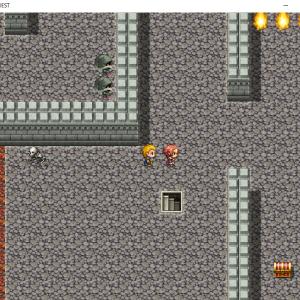 RPGツクールでゲーム制作中です