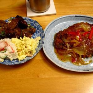 お惣菜で夕食