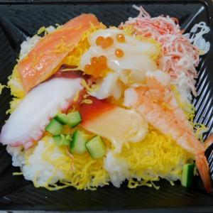 だし醤油で食べる海鮮丼