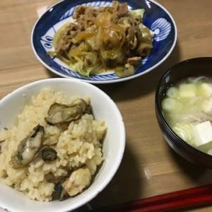 カキご飯(-3.8㎏)507日目