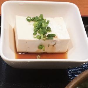 本日の定食2 ( そば処 武蔵  戸畑区 )
