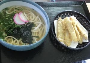 わかめうどん ( 麺 ますや  小倉南区 )