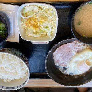 納豆牛小鉢定食 ( 吉野家 小倉北区 )