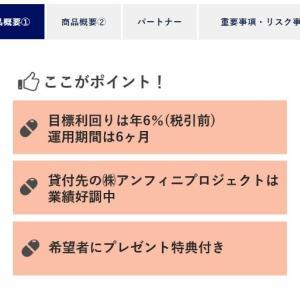 【SAMURAI出資】SAFビジネスローンファンド6号