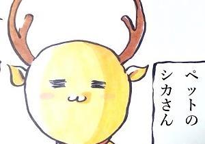 鹿と私の共通点?