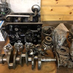 作業状況 エンジンオーバーホール F6A K6A ジムニーオーダー製作
