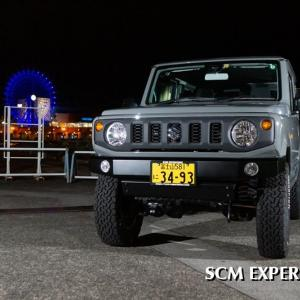 港のジムニー 夜景とジムニー 波止場のプリンスグロリア 観覧車とタテグロバン