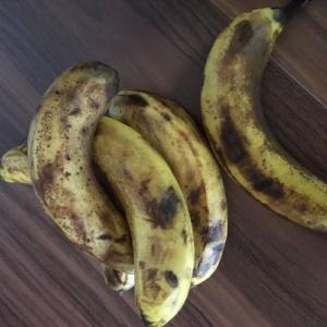 バナナは冷蔵庫に保存した方が長持ちするらしいのと昼食の話