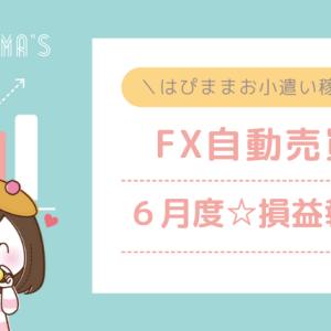 6月はEA・FX自動売買により18万円のお小遣いを稼ぐことができました!