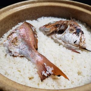 土鍋鯛めしと潮汁