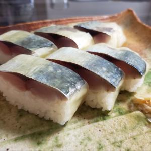 釣魚料理 鯛と鯖の棒寿司