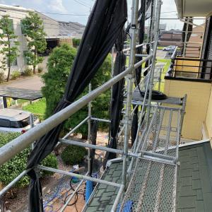 屋根・外壁リフォーム ④ お家の洗浄