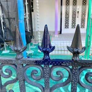 屋根・外壁リフォーム ⑮ 門の塗装 &リフォーム業者選びの注意点