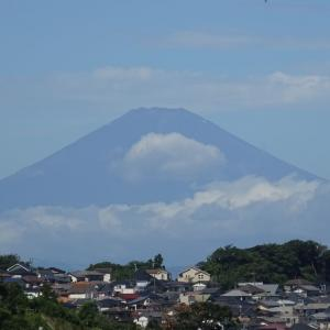 富士山よく見えました