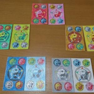 陰陽五行カードをまたまた作りました