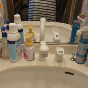 洗面所の整理