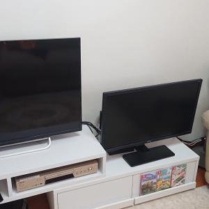 テレビ周りの整理