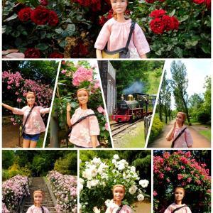 ニニさん 虹の郷にバラを見に行く