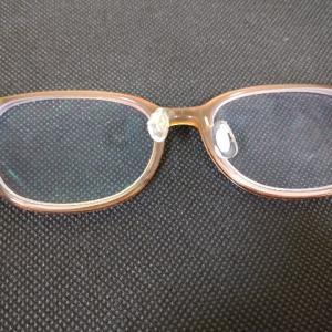 眼鏡が…( ;´・ω・`)