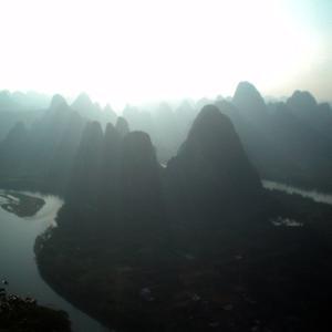 (113)中国◆水墨画の世界を川上り