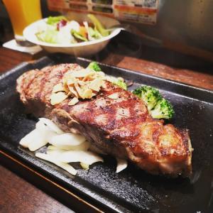ファスティング前に、いきなりステーキ