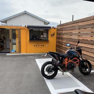 新しいライダーズカフェ