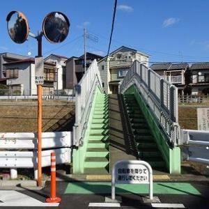 令和2年 お正月の風景 ~東上線月見橋~