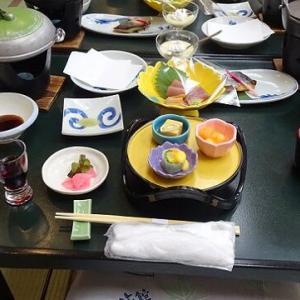蓼科 横谷温泉の旅 ~横谷温泉旅館 二日目の夕食~