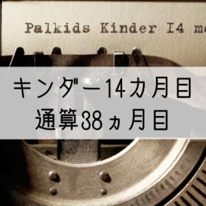 パルキッズキンダー14カ月目の効果(通算38カ月)