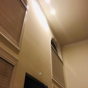 シーリングライトが消えちゃった / The ceiling light went off