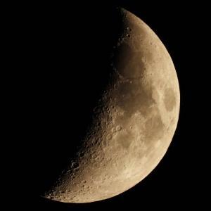 COOLPIX P1000で月を撮る