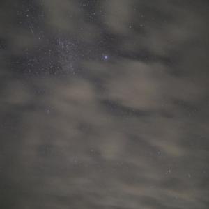 雲のち濃霧のち豪雨【2021年ペルセウス座流星群】撮影しゅ~~りょ~