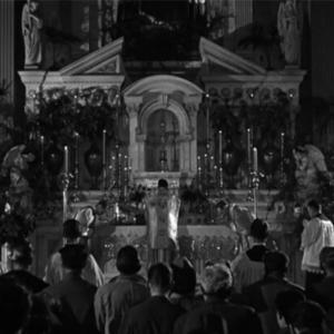 1940年代前半の荘厳ミサ動画   ハリウッド映画『クリスマスの休暇』より