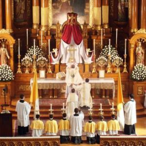 特別形式ミサに関する教令:新しい聖人を祝う、追加の序誦(任意)