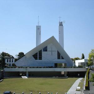 メイソン教会として建て替えられた山口サビエル記念聖堂 ①