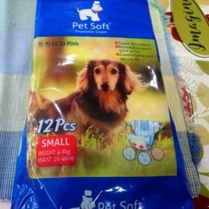 老犬のおむつ生活 ~ 豚の味噌漬けと豆腐の塩こうじ漬け